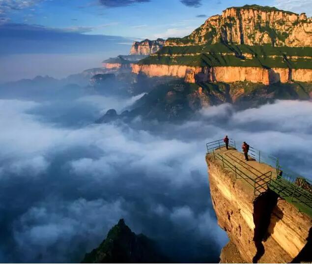 看到祖國的大好河山   心里也是無比激動   中國國家地理說