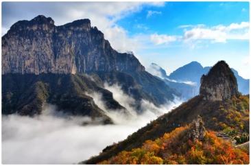 重阳将至,新乡南太行邀您来登高赏秋了!