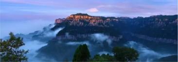 风光摄影作品——《长卷太行天界山》