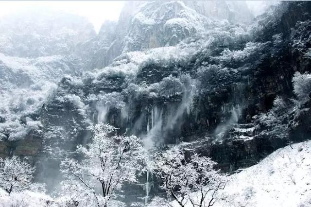 有一种满足,是游遍新乡南太行的冬季美景!