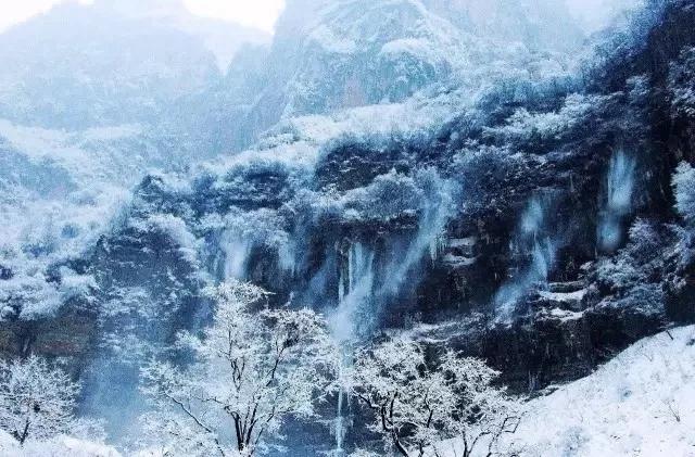 2019初雪|诗情画意冬意浓,风花雪月八里沟