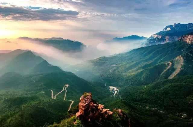 太行山最适合登山踏青赏花的好地方,简直美爆了!