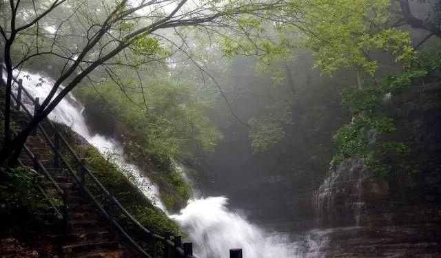 雨中的新乡南太行,如诗如画更醉人!