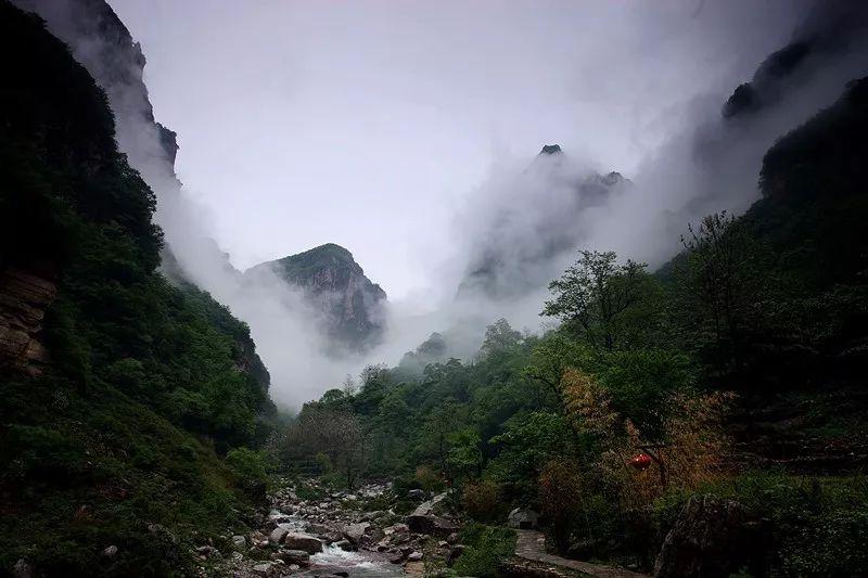 初秋,一起去新乡南太行旅行吧!