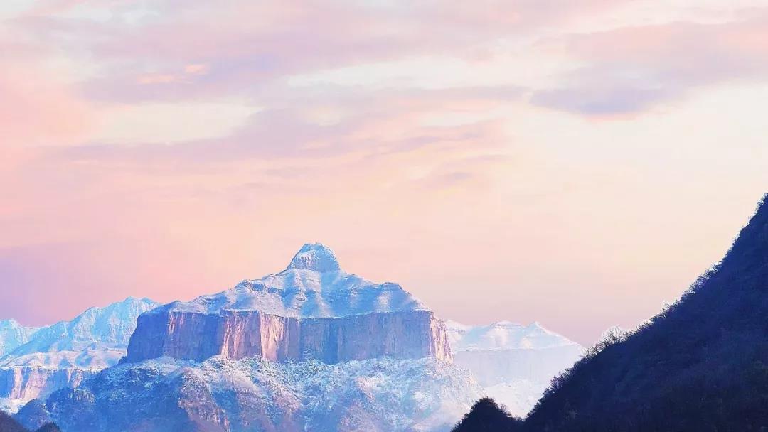 天已晴,雪未化,快来新乡南太行赏美景吧!