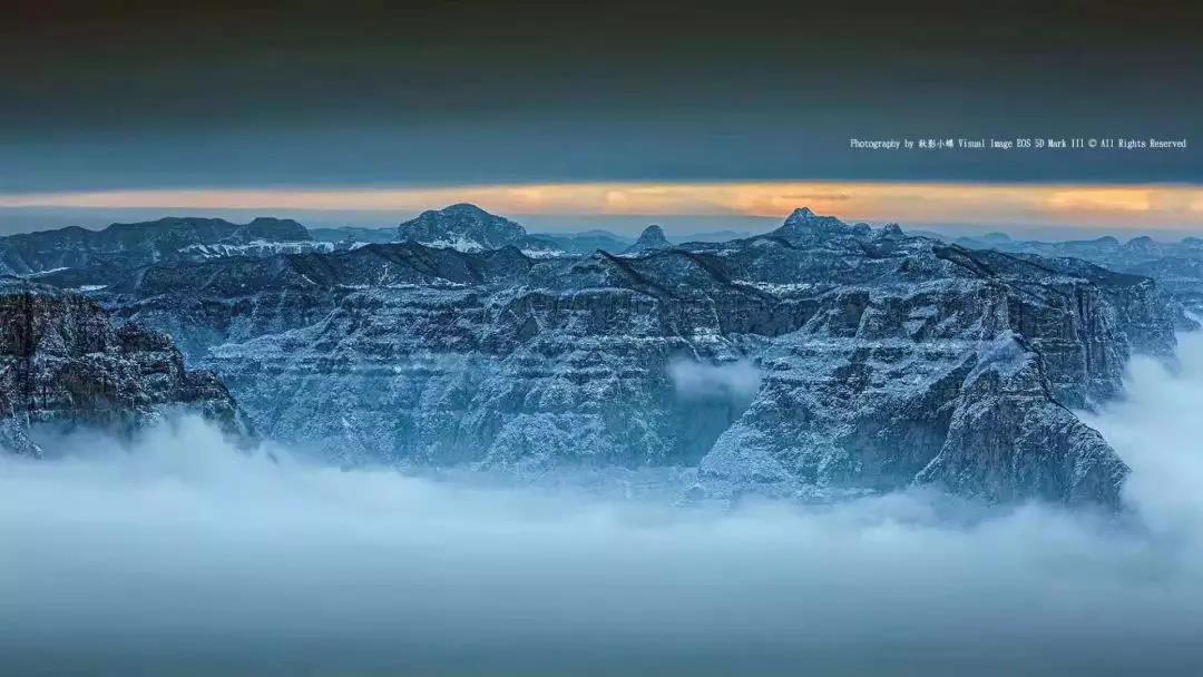 """当冰雪遇上云海,""""仙气十足""""的新乡南太行美得不像话!"""