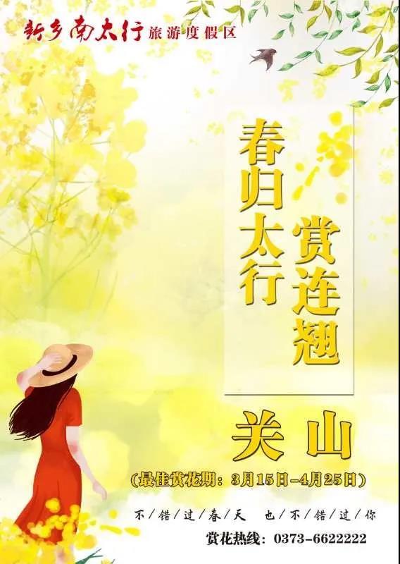 新乡南太行丨体验山花烂漫,拥抱最美春光!