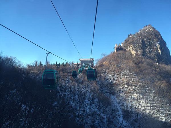 天界山游览区索道