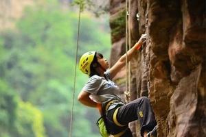 万仙山国际攀岩节