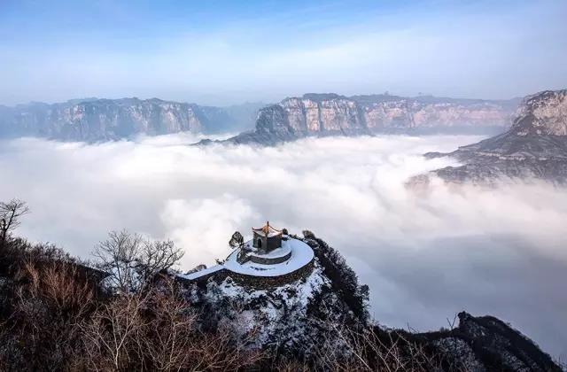 新乡南太行|5A景区八里沟,春节邀您免费游!