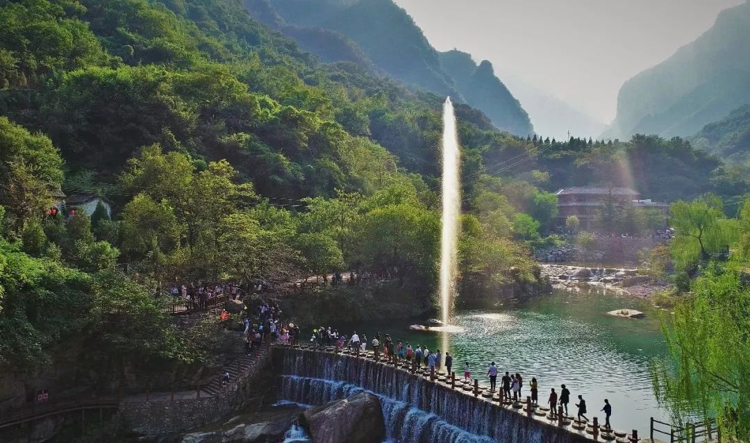暑期旅行季,新乡南太行邀你致青春!