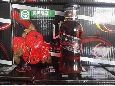 太行星源山楂醋绿色食品南太行特产辉县纯天然山楂饮料